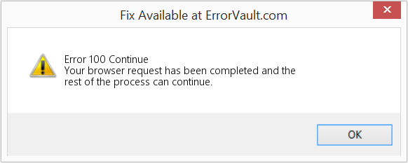Fix Continue (Error Error 100)