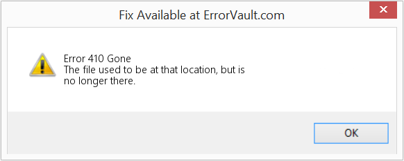Fix Gone (Error Error 410)